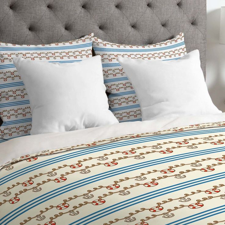 Jennifer Denty Lightweight Anchor Small Duvet Cover