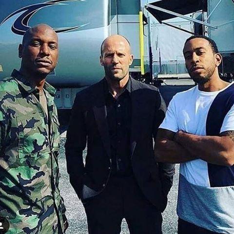 Tyrese Gibson, Jason Statham, Ludacris
