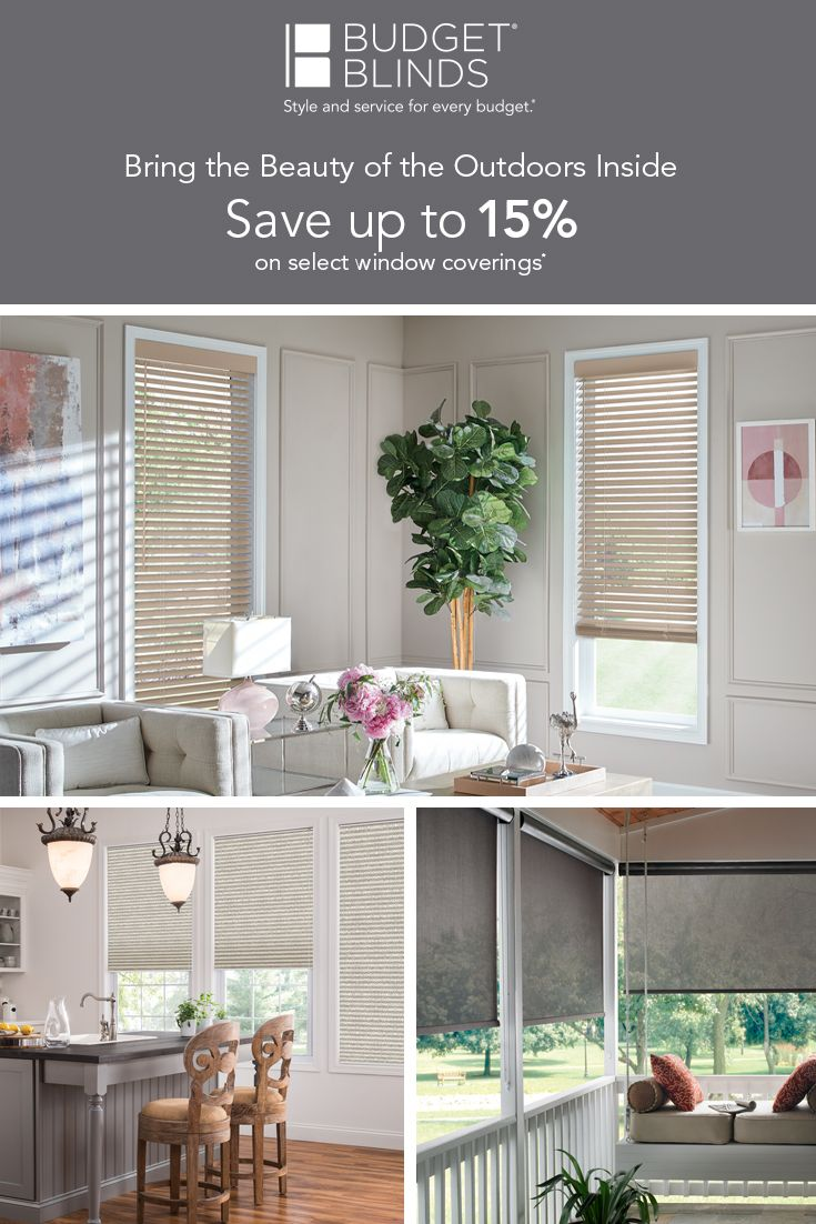 Brighten up your home this spring with our custom selection of blinds shades shutters and more request a free in home consultat