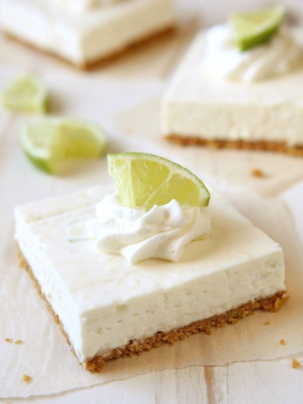 There's no oven required for these easy lime cheesecake bars with graham cracker crust. >> Jump to the recipe Every now and thena new recipe comes out of my kitchen and completely rocks my world. Like these lime cheesecake bars. They instantly jumped right into mytop 10 where I'm sure they will remainforever and ever. …