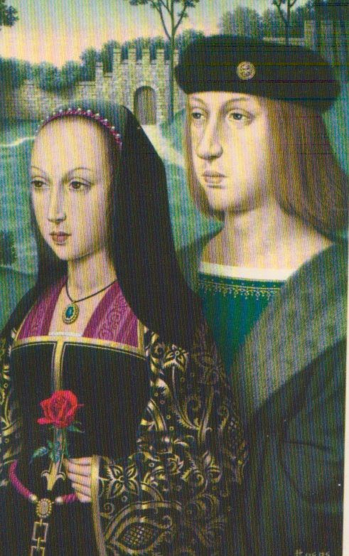 Philip the Fair and Joanna of Castile Joanna (6 November 1479 – 12 April 1555), known as Joanna the Mad (Spanish: Juana la Loca). https://hemmahoshilde.wordpress.com/2015/09/30/joanna-of-castile-childhood-and-betrothal/ <-- Youre welcome to read more about Joanna of Castile on my blog :).