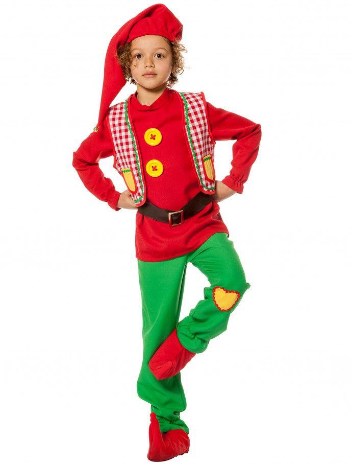 Zwerg Junge Rot Grun 5 Tlg Fur Karneval Fasching Deiters