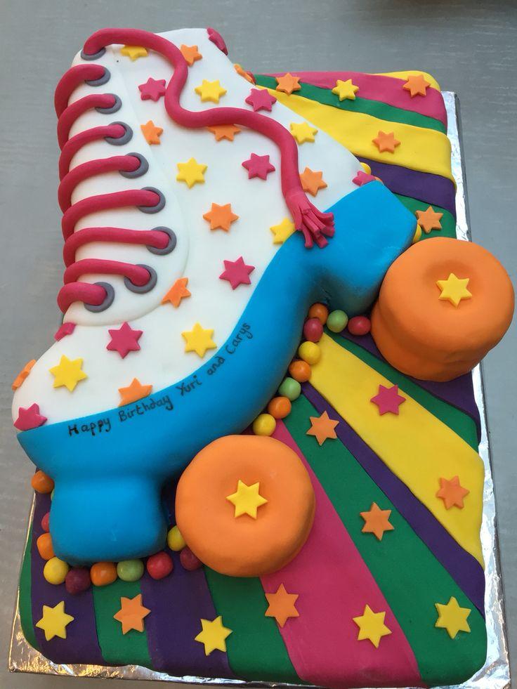 Roller skate cake                                                                                                                                                                                 More