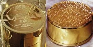 "25 of the Most Expensive Food Dishes Most Expensive Foods - Caviar#2. Iranian White Beluga Caviar ""Almas"" – $37,000"
