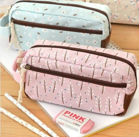 Creative cute pencil case stationery bags minimalist / stationery / Korean high-capacity pen bag pencil case