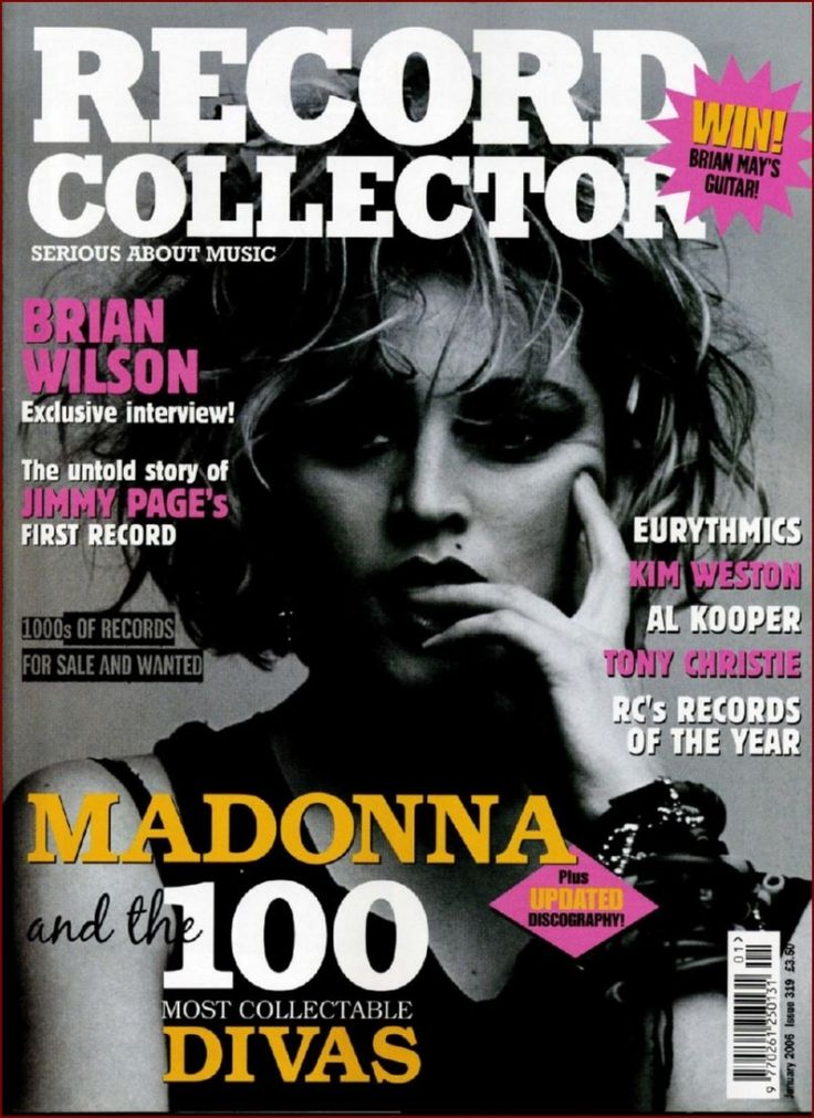 Magazine - 2006-01-01 Eurythmics - UK - Record Collector - http://www.eurythmics-ultimate.com/magazine-2006-01-01-eurythmics-uk-record-collector/