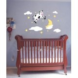 Stars and MoonBaby Dressel, Murals Kits, Wall Murals,  Cot, Nurseries Rhymes, Sleepytime Wall, Theme Nurseries, Nurseries Ideas, Baby Nurseries