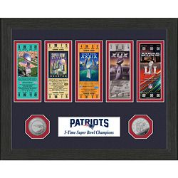 Super Bowl Tickets: Relive your favorite team's Super Bowl success! Framed and double-matted presentation features replica tickets from…