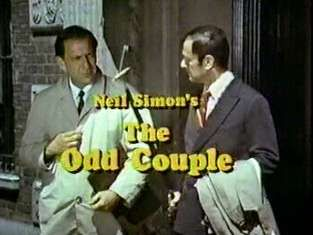 THE ODD COUPLE (1970-1975; ABC, USA; theme by Neal Hefti). One of the emblematic themes of '70s TV, a real pleasure to hear, then and now. It is disqualified from top ranking simply because I won't rank TV themes that were not written specifically for a show. This tune was written first for the classic 1968 film version. (KevinR@Ky)