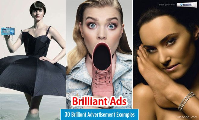 50 Brilliant Advertisement Examples Around the World for your inspiration. Read full article: http://webneel.com/30-brilliant-advertisement-examples-around-world-your-inspiration | Follow us www.pinterest.com/webneel