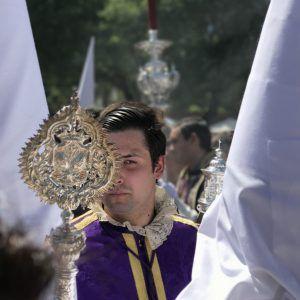 Pertiguero de La Paz. Domingo de Ramos. Sevilla.