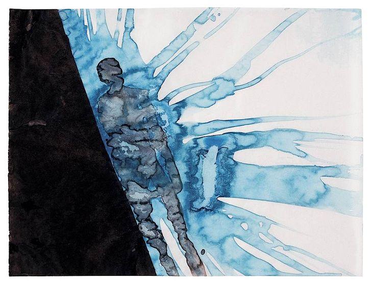 Anthony Gormley, drawing, Night Dream - Bermuda
