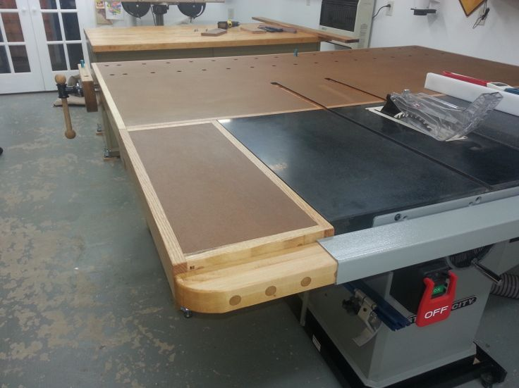 17 Best Images About Tablesaw Outfeed On Pinterest Wings