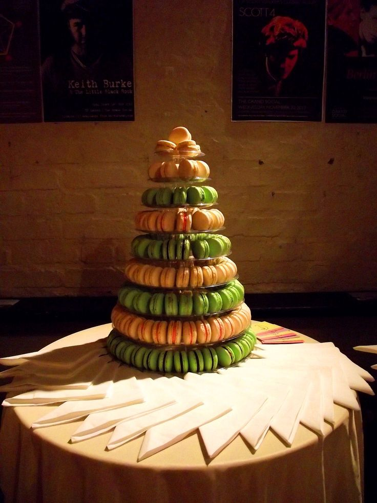 Macarons by Andrea were out of this world!  Photo Credit: Laura Vitel