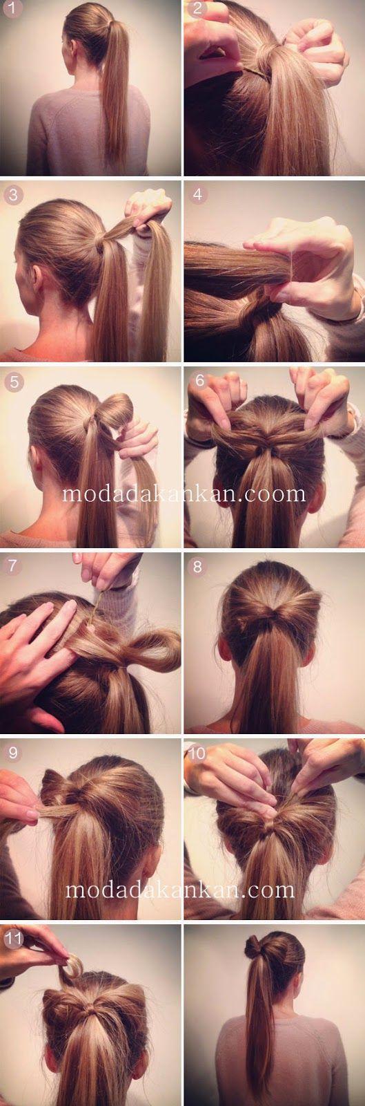 2015 Şık Saç Modelleri ve Yapımı