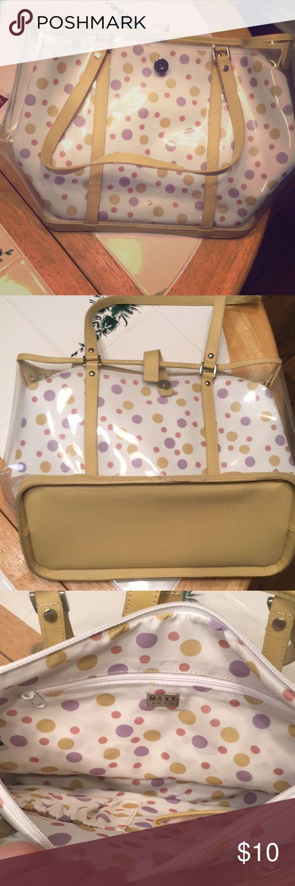 Polka dot bag like new Polka dot bag never used. Bags Shoulder Bags