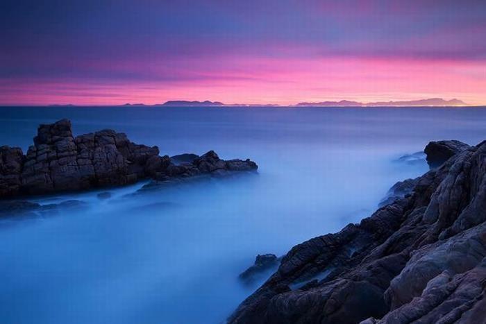 Foz do Rio Steenbras, África do Sul