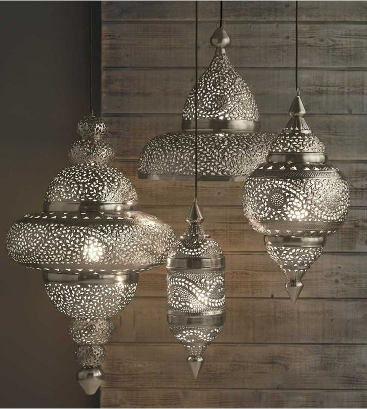 Moroccan Hanging Lamp - VivaTerra  $149 - $419  I ADORE the look and shadows of these beautiful lamps!!!