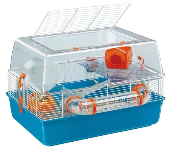 6. Ferplast Duna Fun Hamster Cage