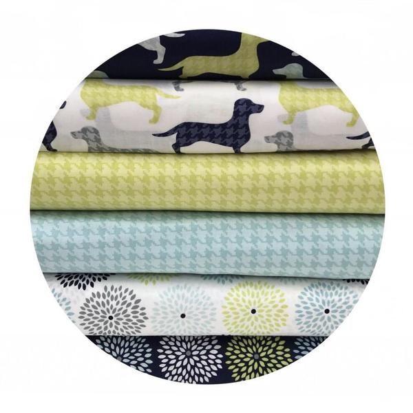 6 Fat Quarter Bundle - Dog Gone It Collection - Camelot Fabrics – Pins & Needles Fabrics