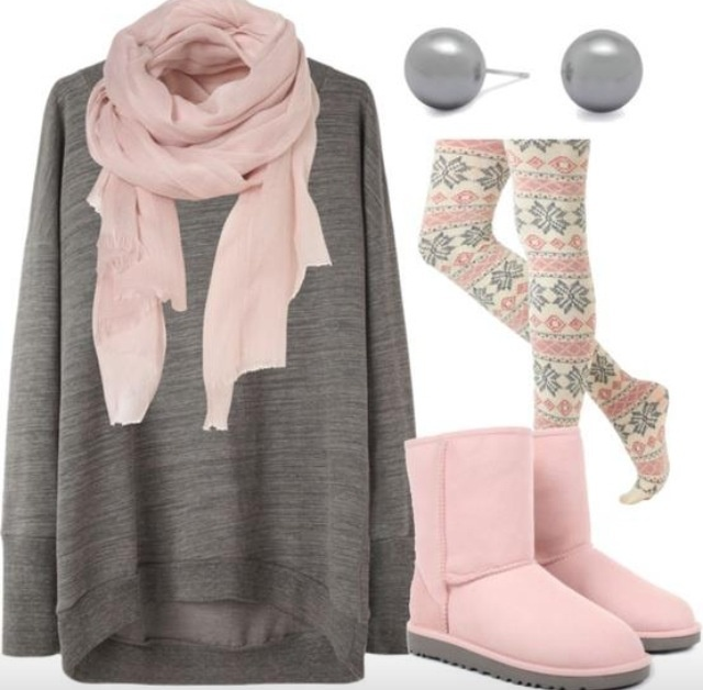 Cute winter outfit... Goes perfect with my Uggs