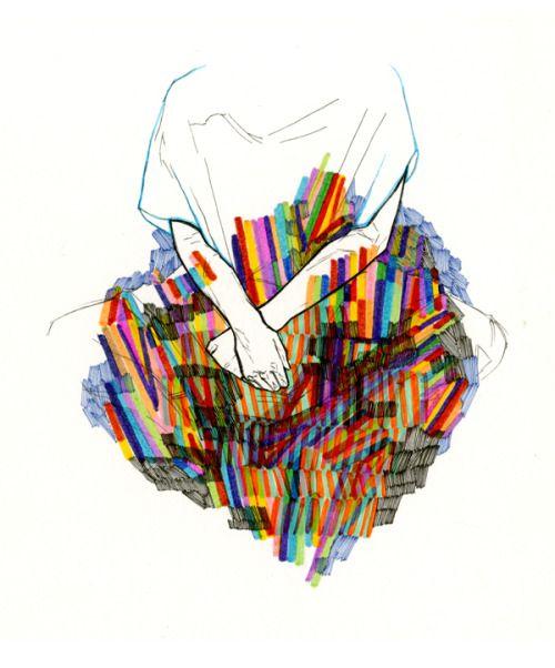 Paper Darts: ART + LIT - Literary Magazine - Featured Artist: AllegraLockstadt