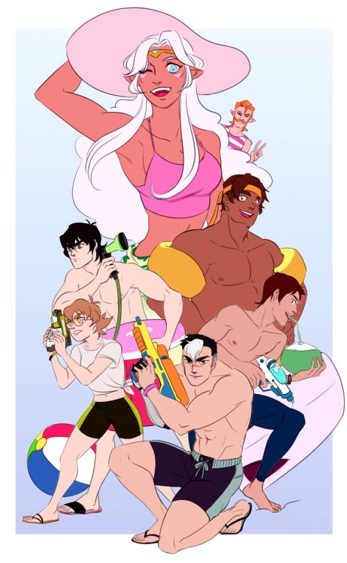 The Voltron beach day I have been waiting for ~