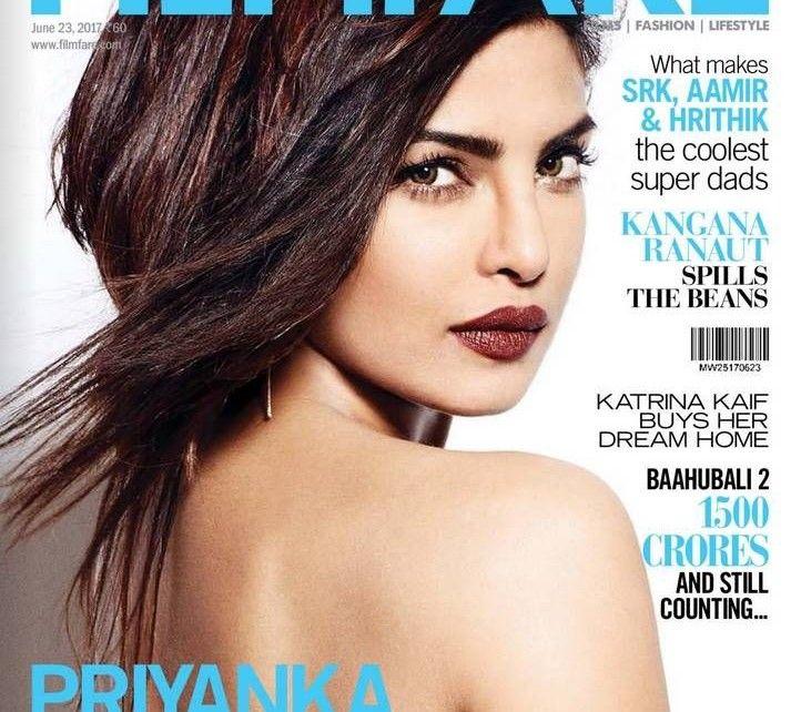 Priyanka Chopra - Filmfare Magazine (June 2017) | Bollywood Updates