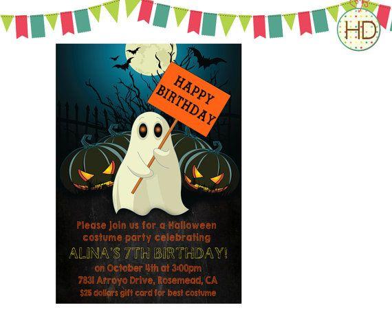 Halloween Invitation Halloween Party Invitation by HDInvitations