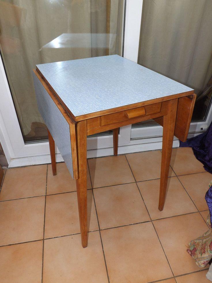 Mesa de cocina de formica vintage