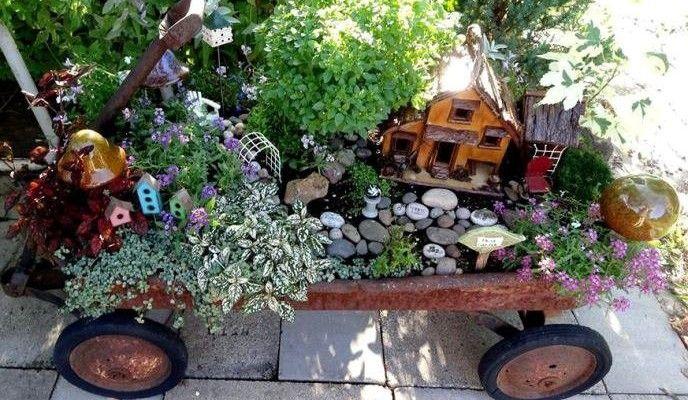 20 Amazing Garden Fairy Creative Ideas