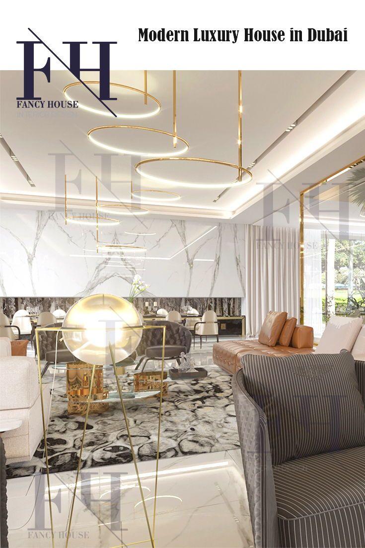 Minimalist Home Decor For A Home In White Gold Colors Get Interior Design Ideas Inspira Luxury House Interior Design Interior Design Dubai Interior Design