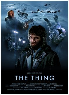 The Thing poster by Brian Taylor