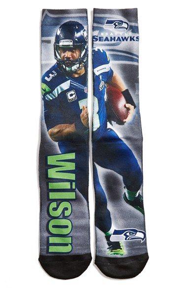 FBF Originals 'Seattle Seahawks - Russell Wilson' Socks
