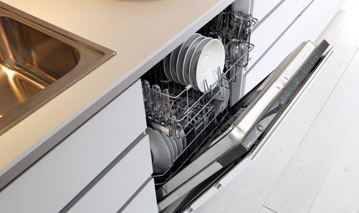 لا يتأثر شكل وأناقة مطبخك عند استخدامك لواجهات الأدراج لإخفاء الأجهزة مثل غسالة الأطباق.