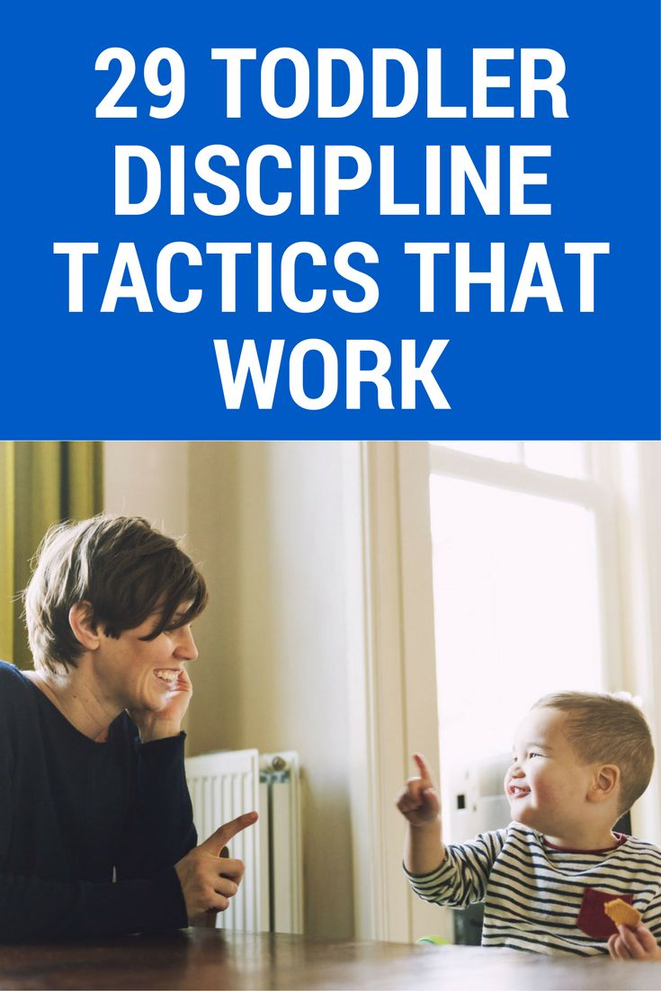 No tricks! These toddler discipline tactics ACTUALLY work.