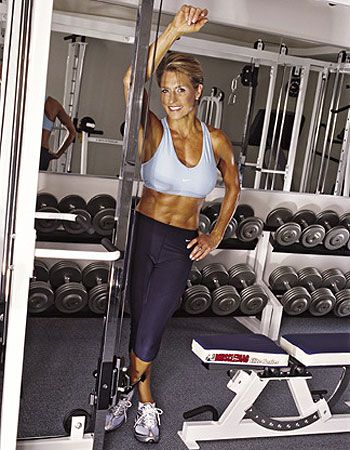 Fifty, Fit, and Fabulous!!!  ...     Tosca Reno, age 55, Nutritionist and Wellness Author   .....      (She lives around the corner from the Fountain of Youth)