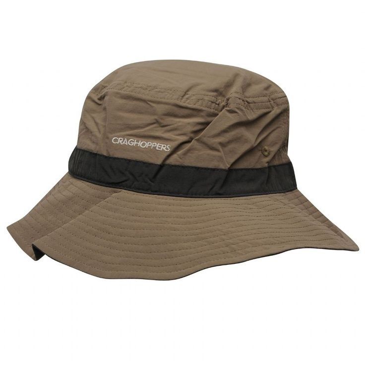 Craghoppers Dark khaki Pebble Nosilife Sun Hat Perfect for travel our  superb sun hat is not