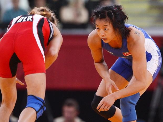 Carol Huynh wins bronze in 48kg freestyle Wrestling