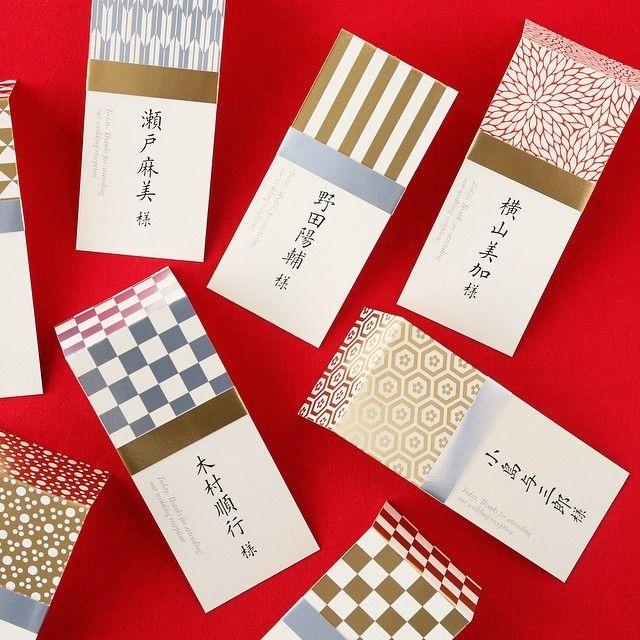 アーバンシリーズ和 席札 吉祥紋が楽しいコンパクトな席札です。 ハイブランドのルイヴィトンも日本の家紋をモチーフにしたと言われていますが日本ってすごいと改めて実感。 #いつも3連投で失礼します#和#和婚#結婚式#ペーパーアイテム#招待状#席次表#席札#手作りキット#ブライダル#ウエディング#プレ花嫁#箔押し#紙#吉祥紋#ジャポニズ#invitation#wedding#paper#japan