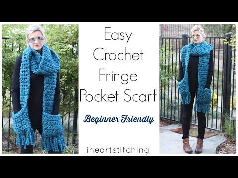 how to make a fringe for a knitted scarf