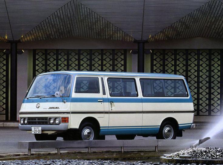 Nissan Japanese Cars >> Nissan Homy (E20) '1973–80 | taxi life | Pinterest | Nissan, Cars and Japanese cars