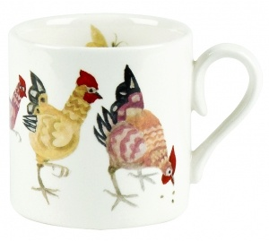 Rosie's Hen Child Mug  ~ Burleigh