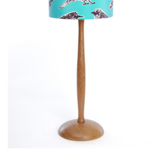 Wooden Table Lamp  handturned in England by KatieandtheWolf, £45.00