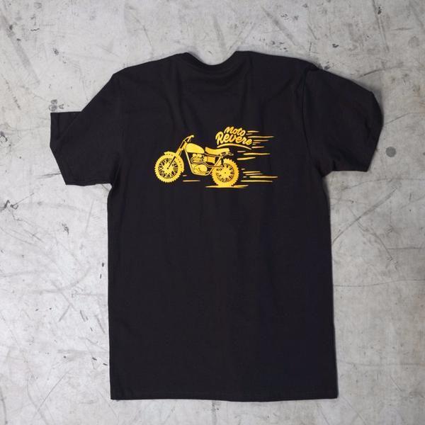 Stevie Scrambler T shirt Black