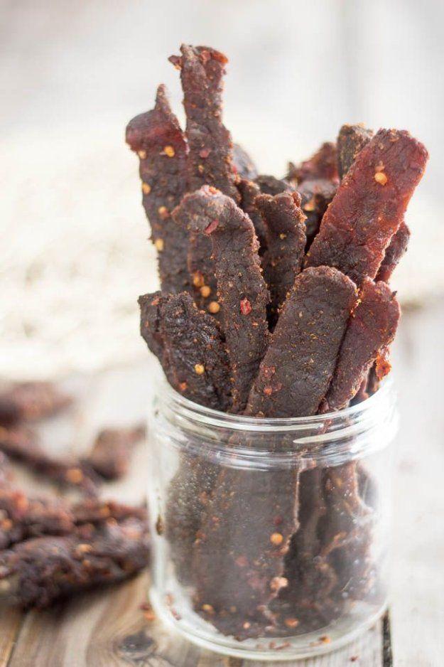 Homemade Jerky Recipes - Hot and Spicy Beef Jerky
