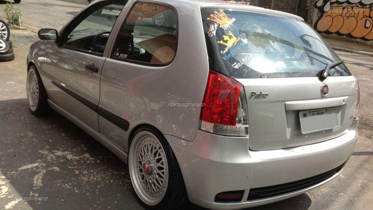 """Fiat Palio 2008 com rodas   aro 17""""  foto 3"""