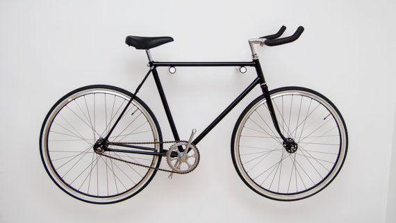 Bike Rack Wall Bike Mount Bike Hook by WorldOfOurCubes on Etsy
