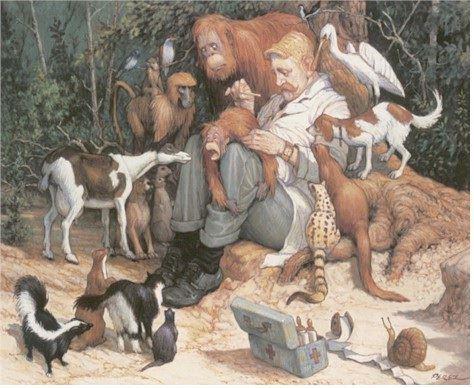 6 de agosto : Feliz dia del veterinario Argentino!