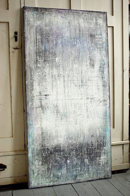blues 2015 - 150 x 75 cm - Mischtechnik auf Leinwand